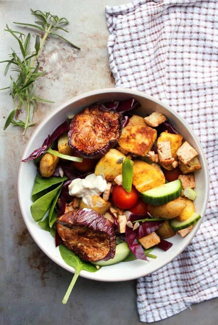 Vegan potato salad recipe