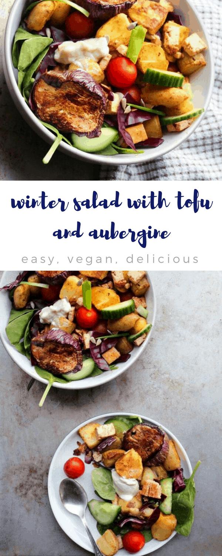 Vegan winter salad recipe