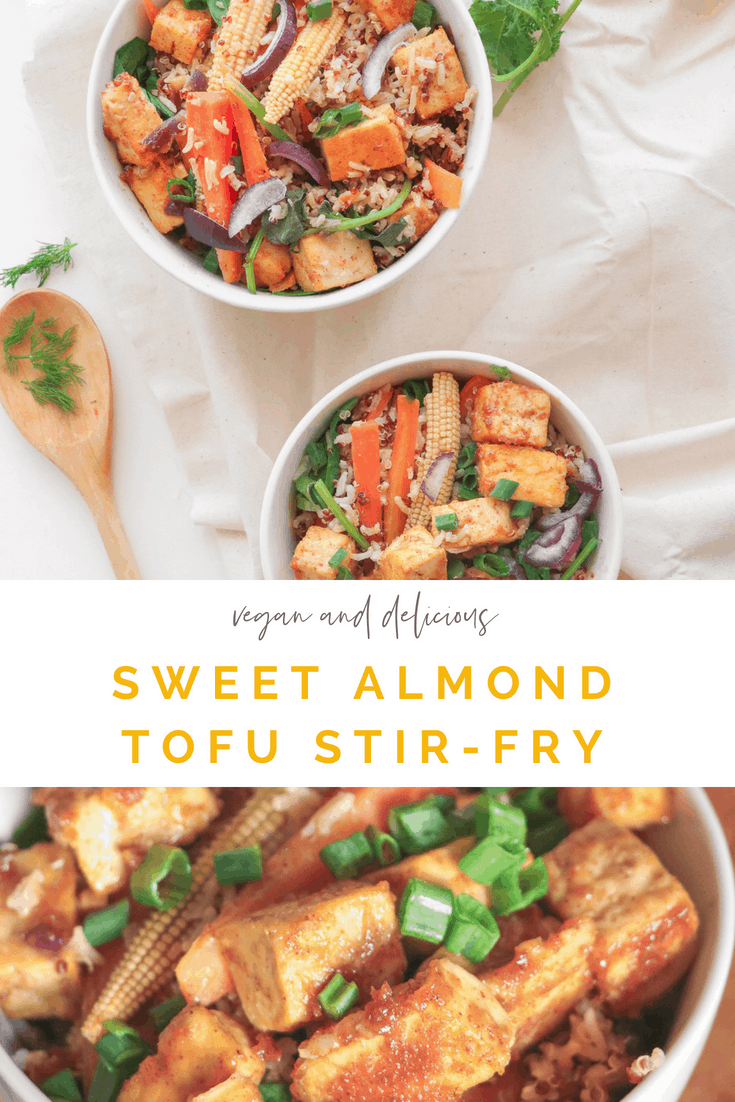 Sweet Almond Tofu Stir-fry - Vegan And Gluten-free