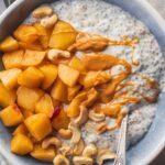 Apple Pie Coconut Chia Pudding Vegan Gluten-free