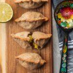 Vegan gluten-free mushroom and potato piroshki recipe