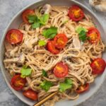 Vegan Alfredo sauce oil-free easy