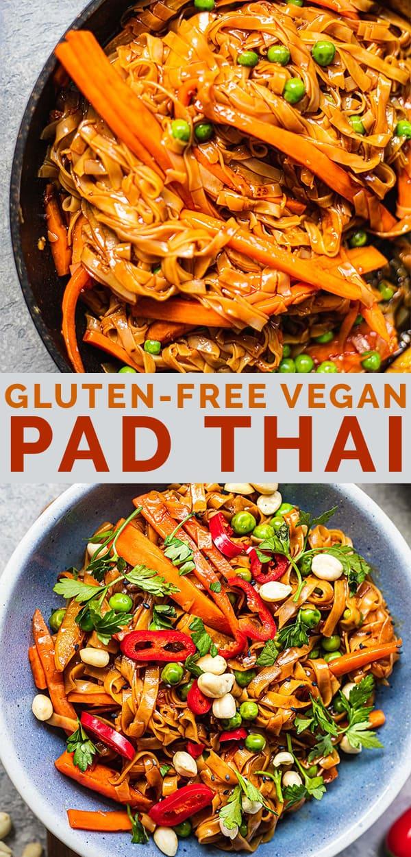 Gluten-free vegan Pad Thai