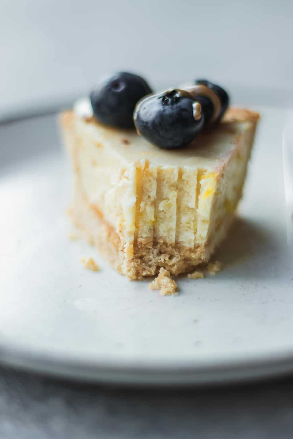 Gluten-free vegan lemon tart