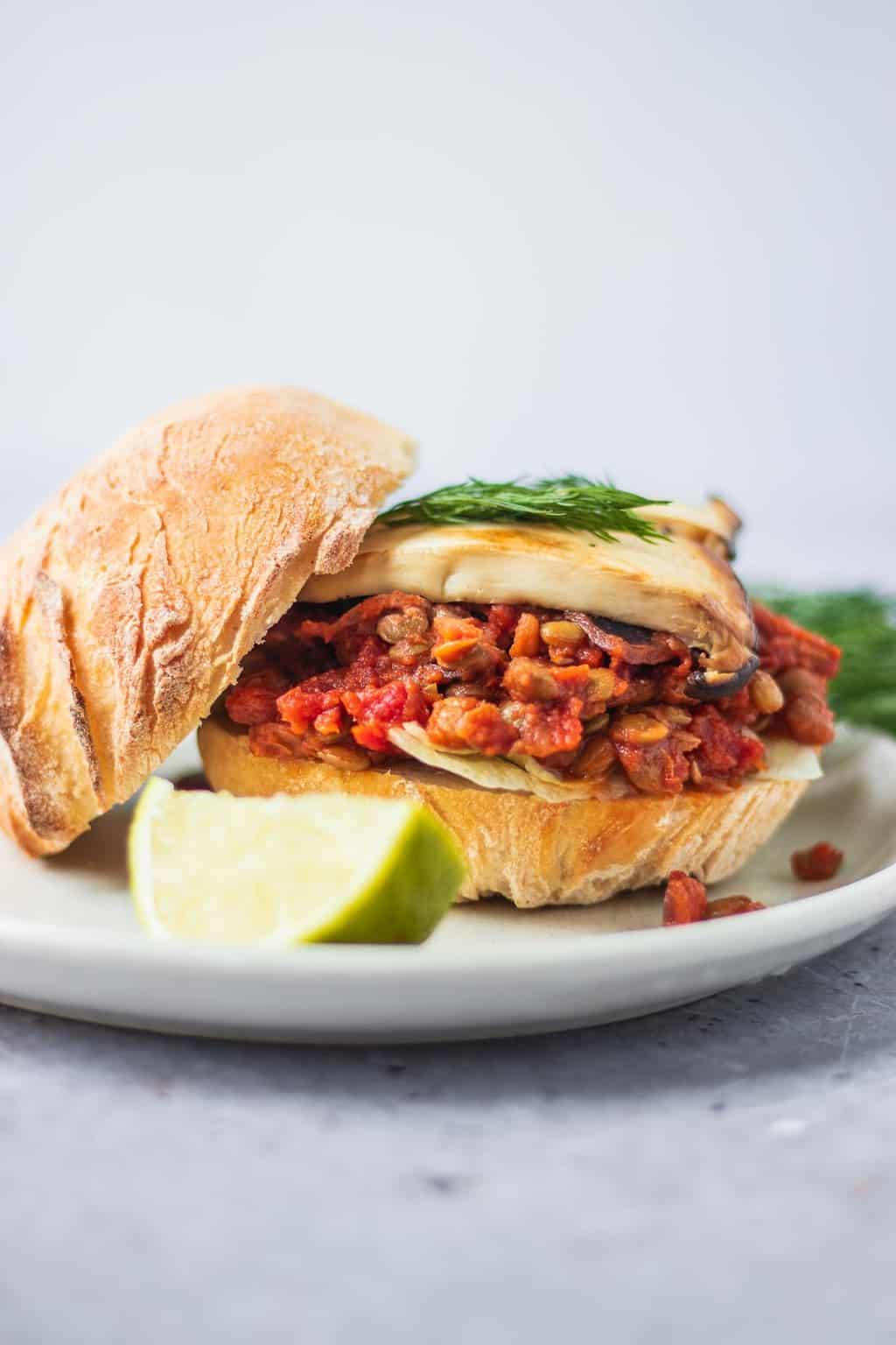 Vegan sloppy joes gluten-free