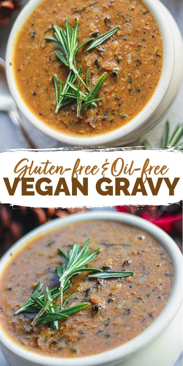 Gluten-free vegan gravy Pinterest
