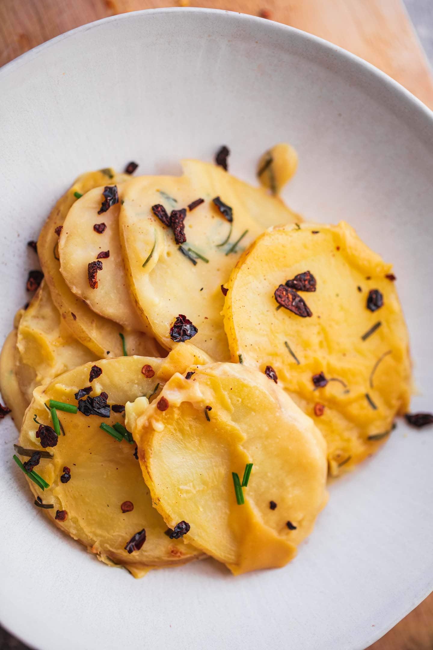 Vegan scalloped potatoes nut-free