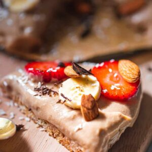 Vegan banana cream pie gluten-free