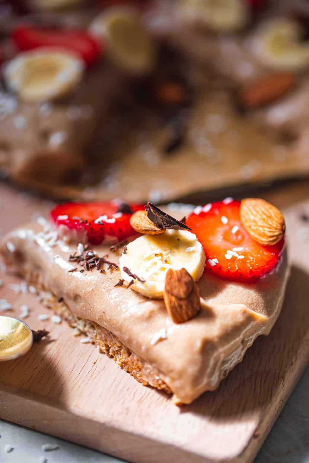 Vegan banana cream pie gluten-free