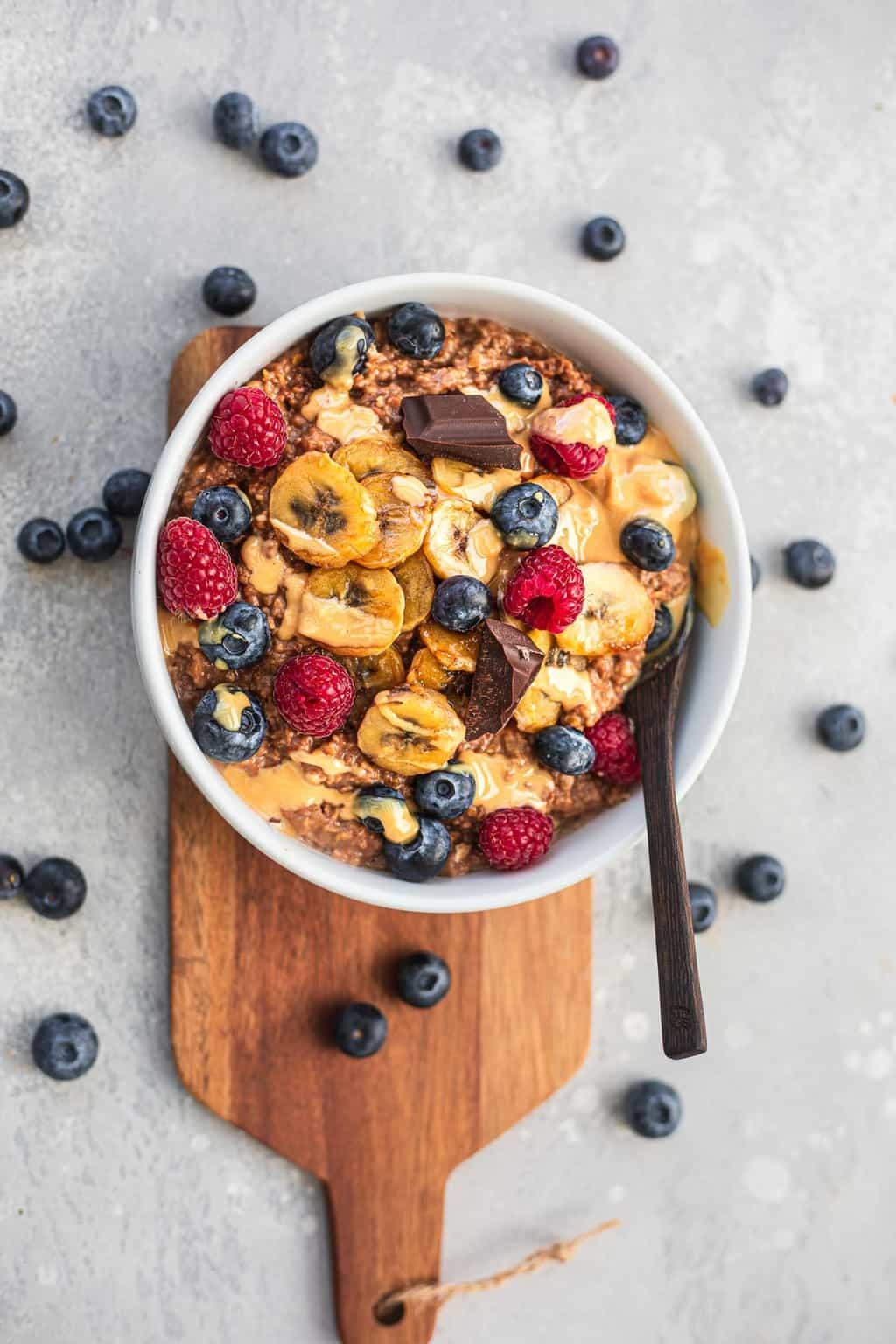 Vegan coconut oats gluten-free