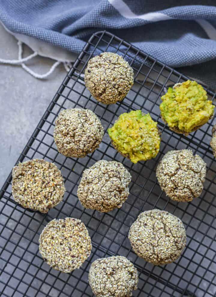 Vegan quinoa bread rolls gluten-free