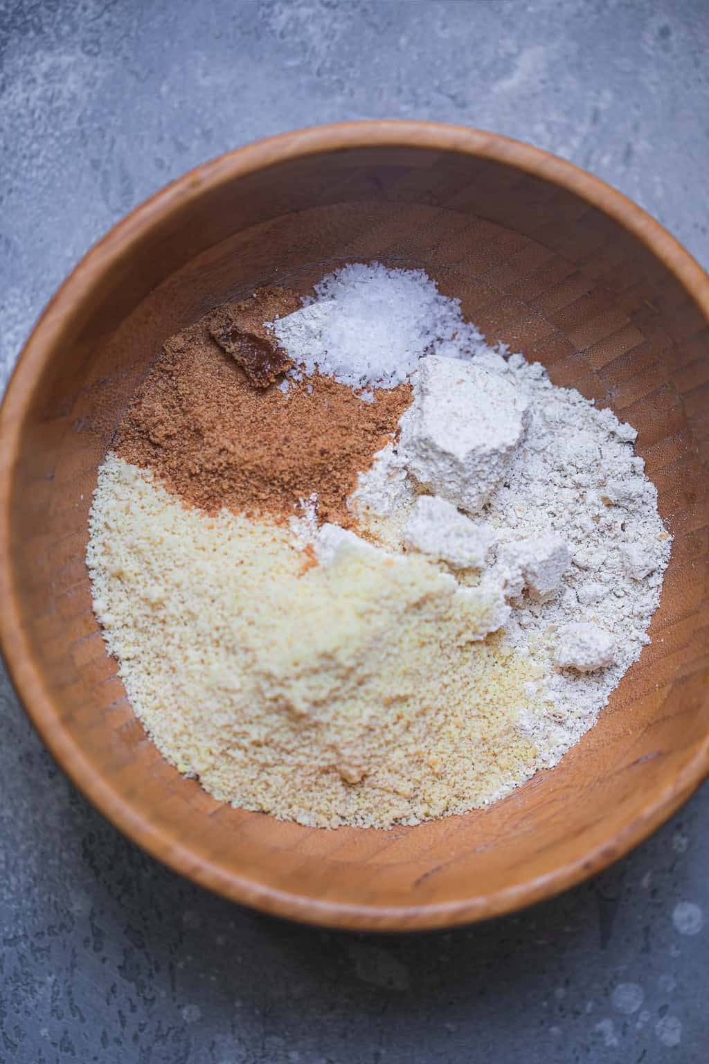 Cookie dough dry ingredients
