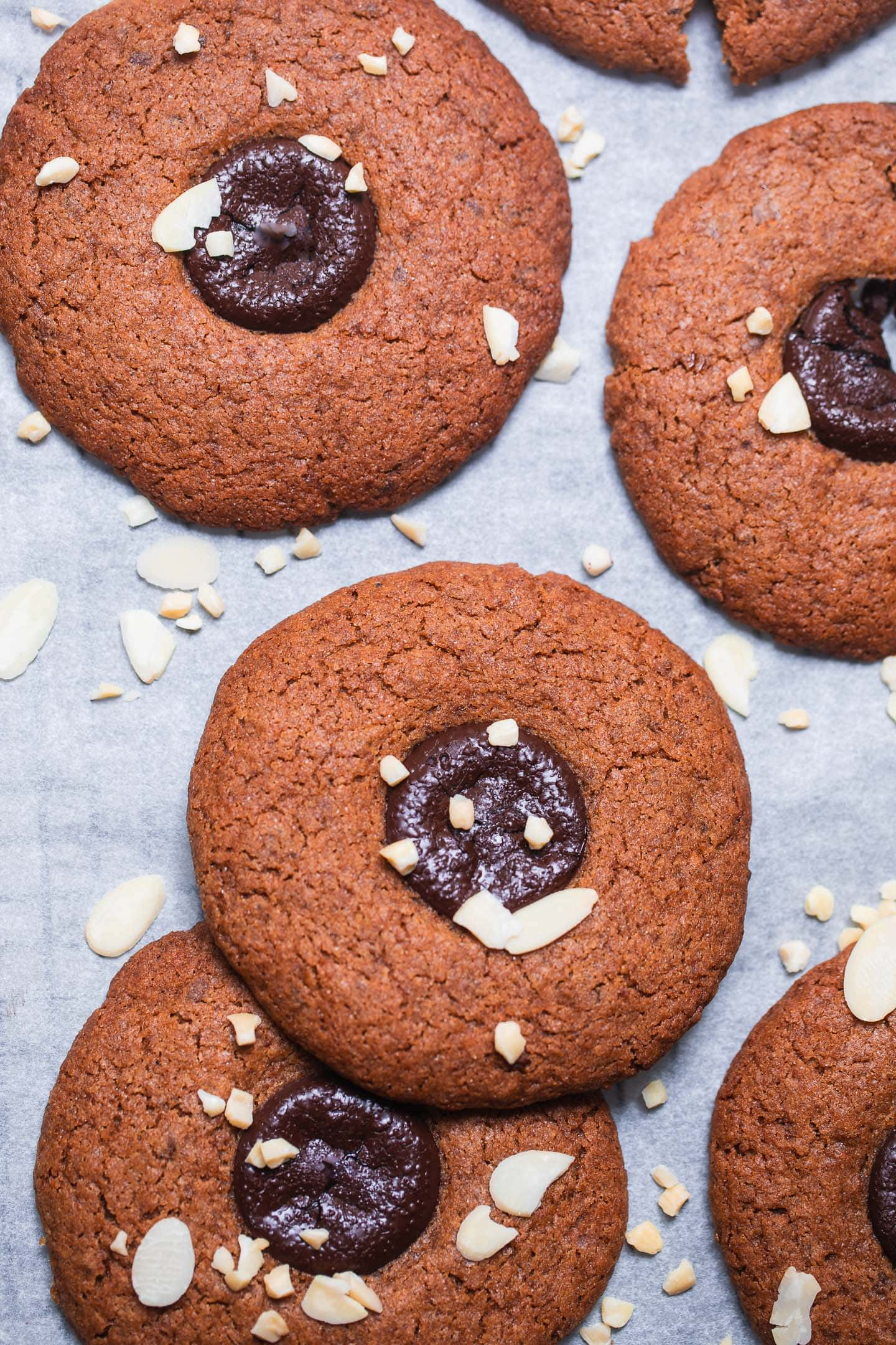Chewy gluten-free vegan cookies