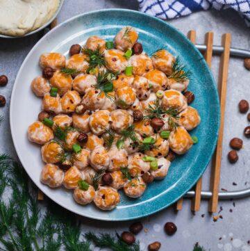 Gluten-free vegan sweet potato gnocchi