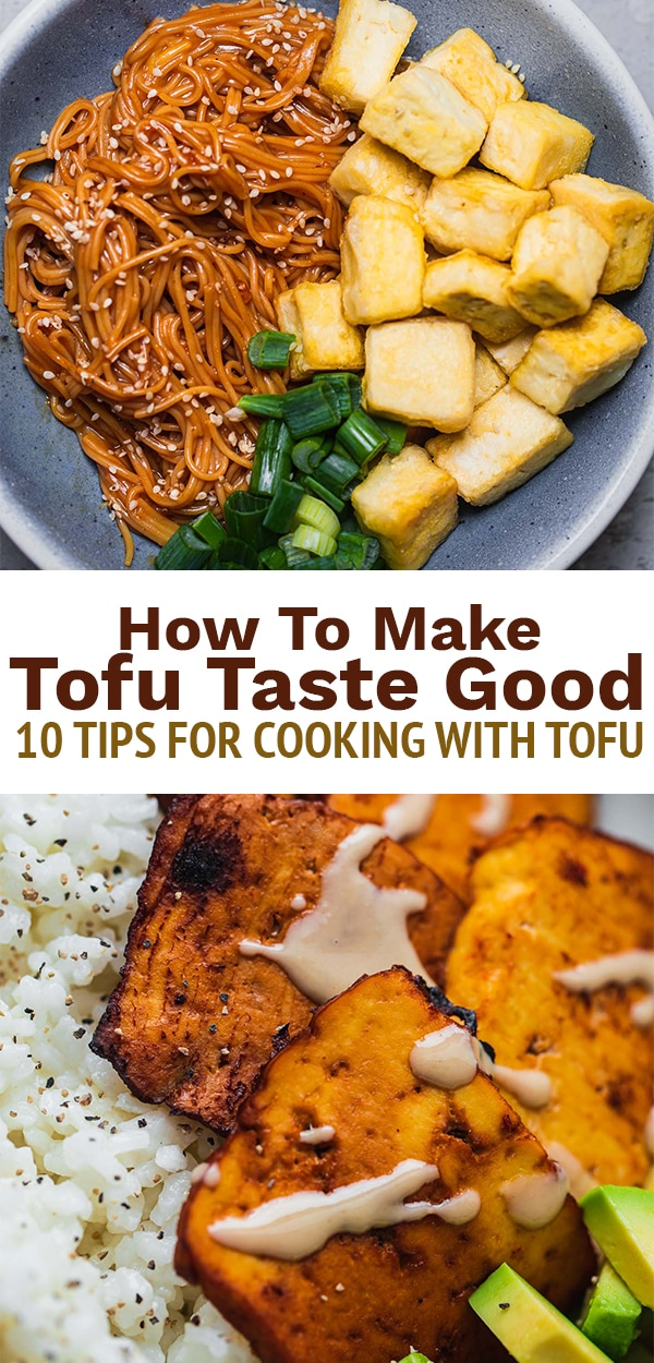 How to make tofu taste good