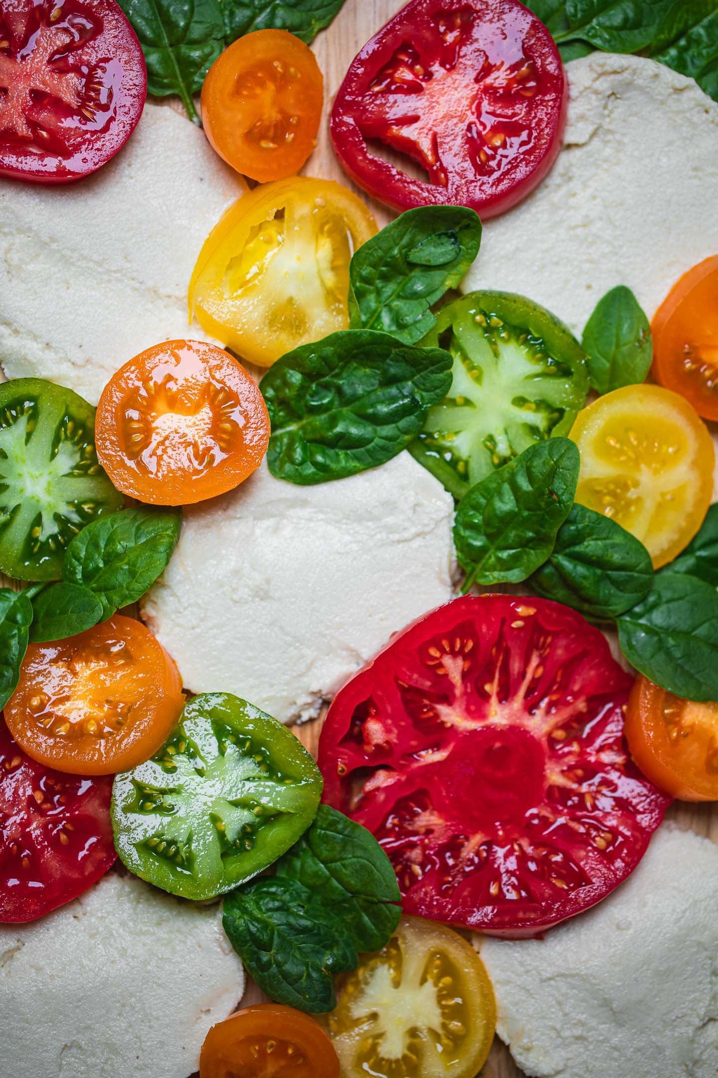 Simple vegan mozzarella recipe