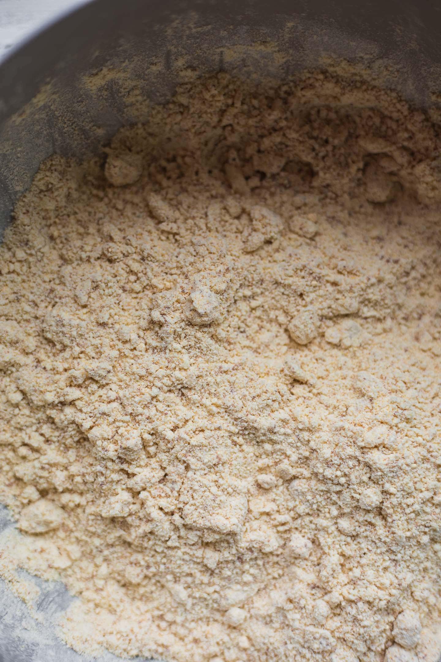 Pie crust dry ingredients
