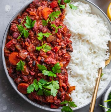 Easy vegan chili recipe gluten-free