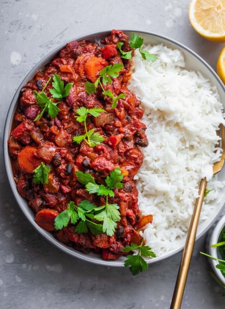 Easy vegan chili recipe gluten-free
