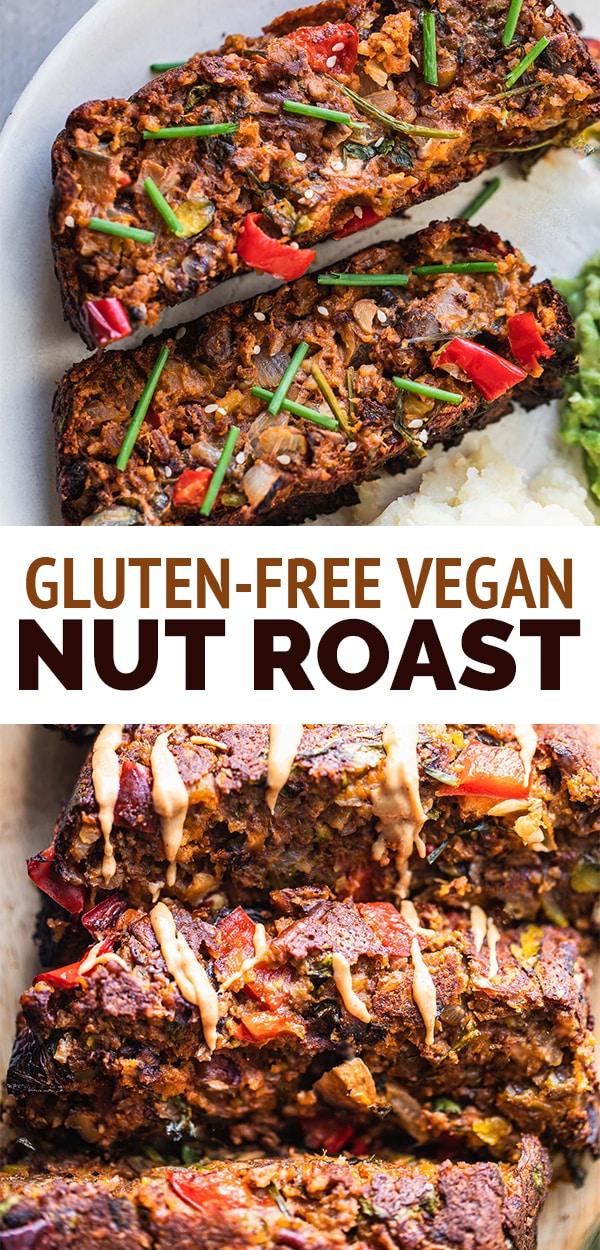 Gluten-free vegan nut roast
