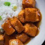 Easy vegan crispy tofu baked or fried
