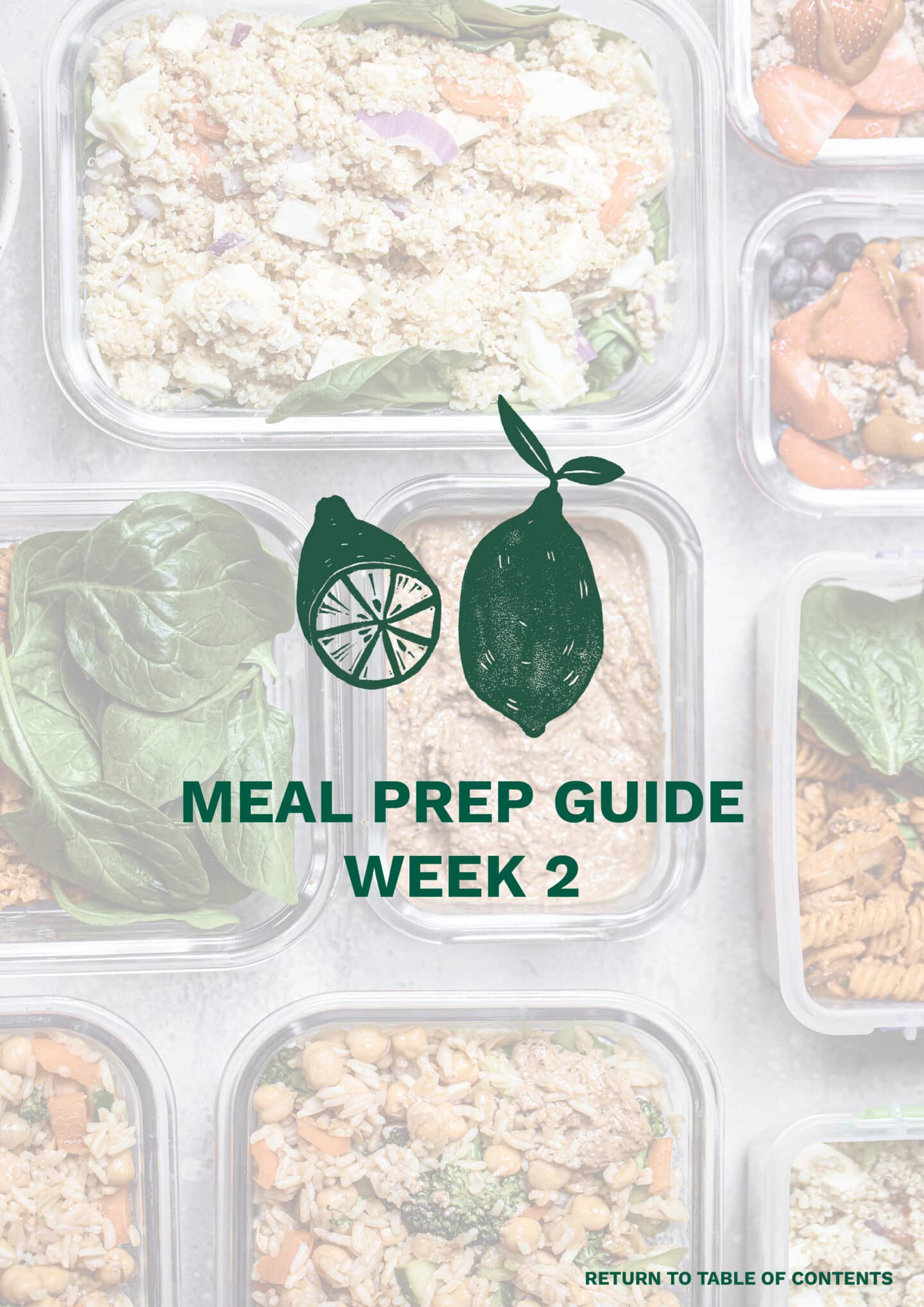 Meal prep guide cover