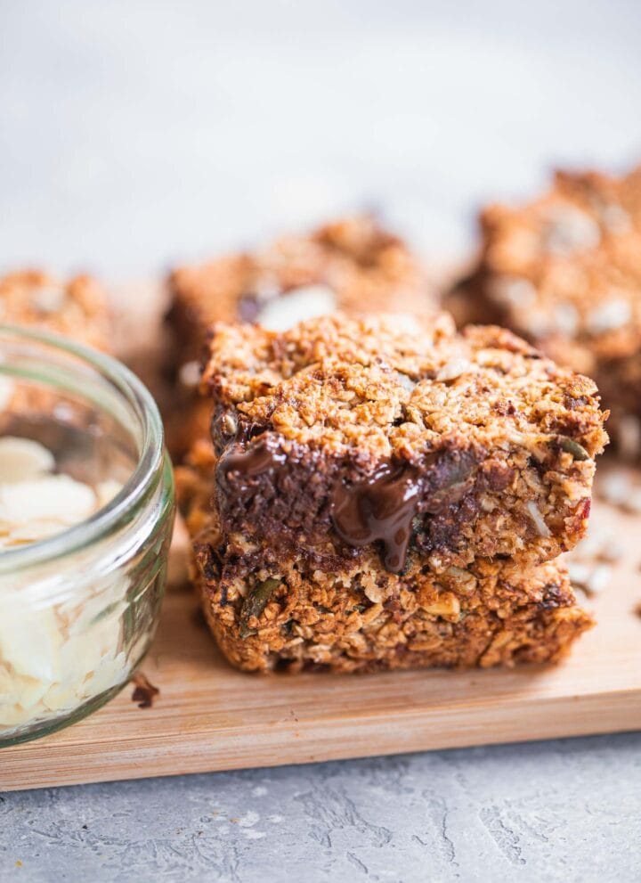 Vegan granola bars gluten-free