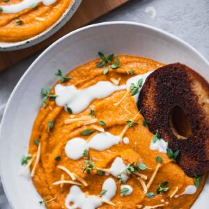 Vegan Sweet Potato Soup (Gluten-free)