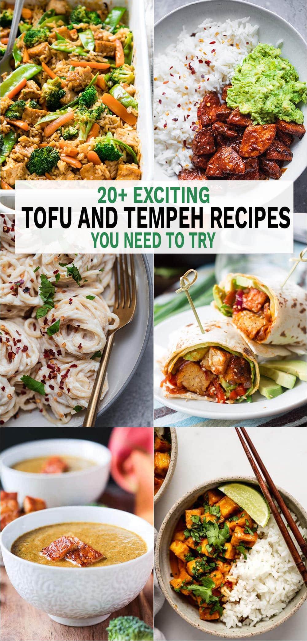 20+ Tofu and Tempeh Recipes You Need To Try