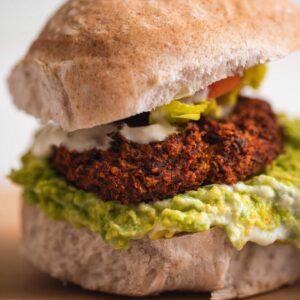 Vegan Black Bean Burgers (Gluten-free)