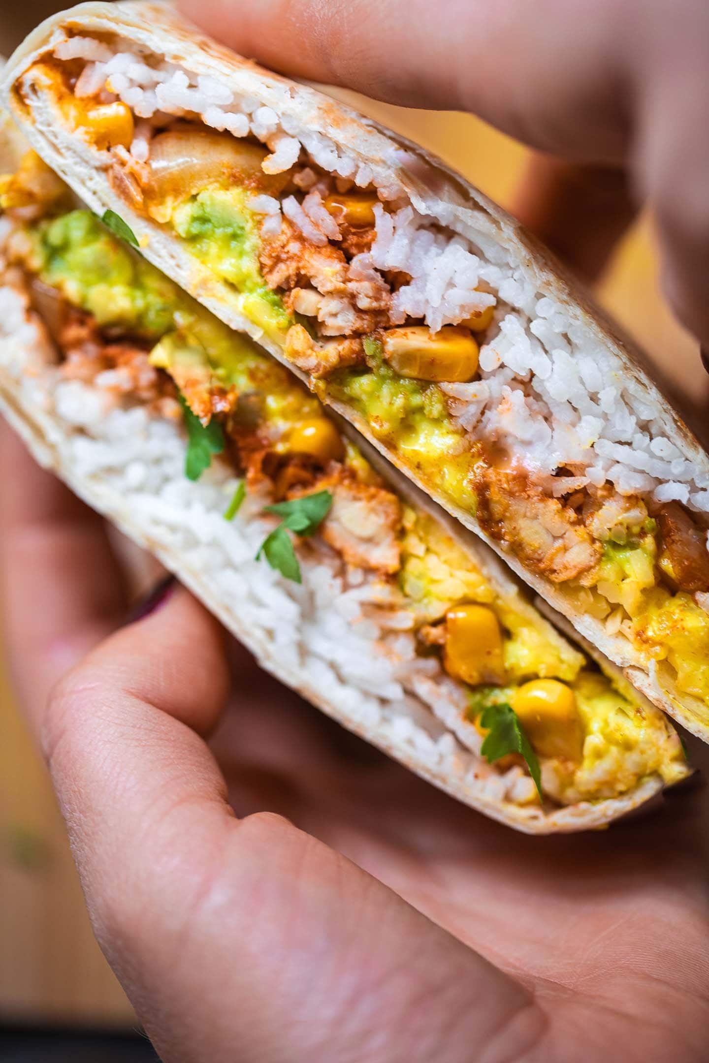 Vegan Crunchwrap supreme 1