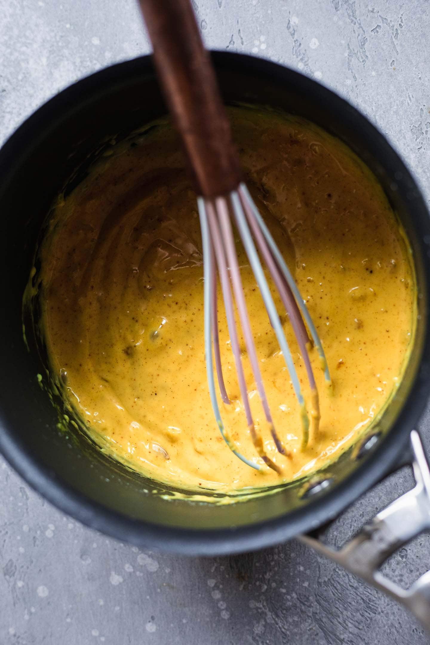 Vegan nacho cheese
