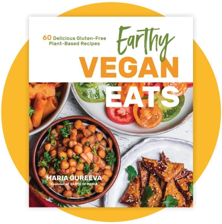 Earthy Vegan Eats Cookbook Cover