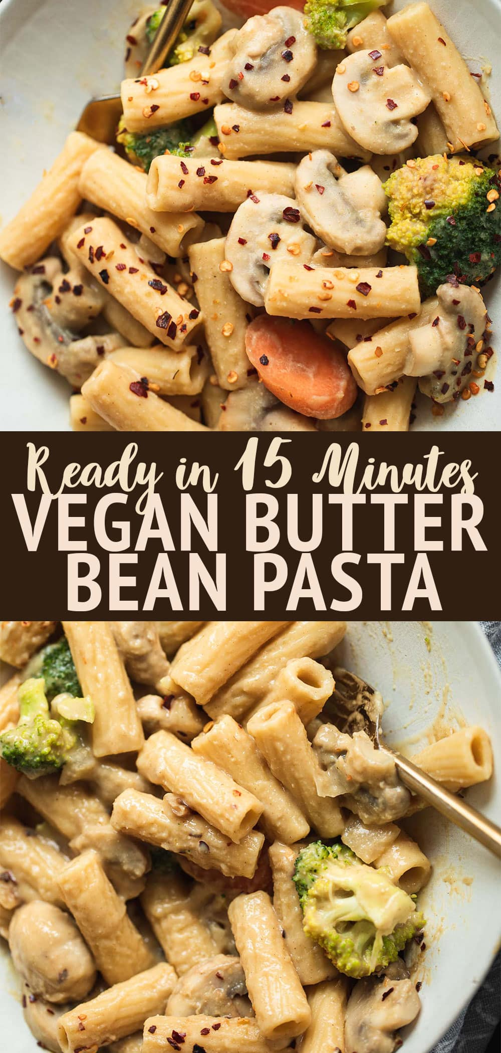 Vegan butter bean pasta