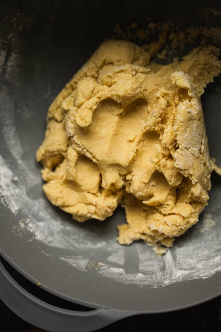 Dough for vegan biscuits