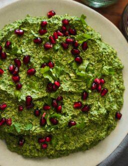 Pkhali (Georgian spinach dip)