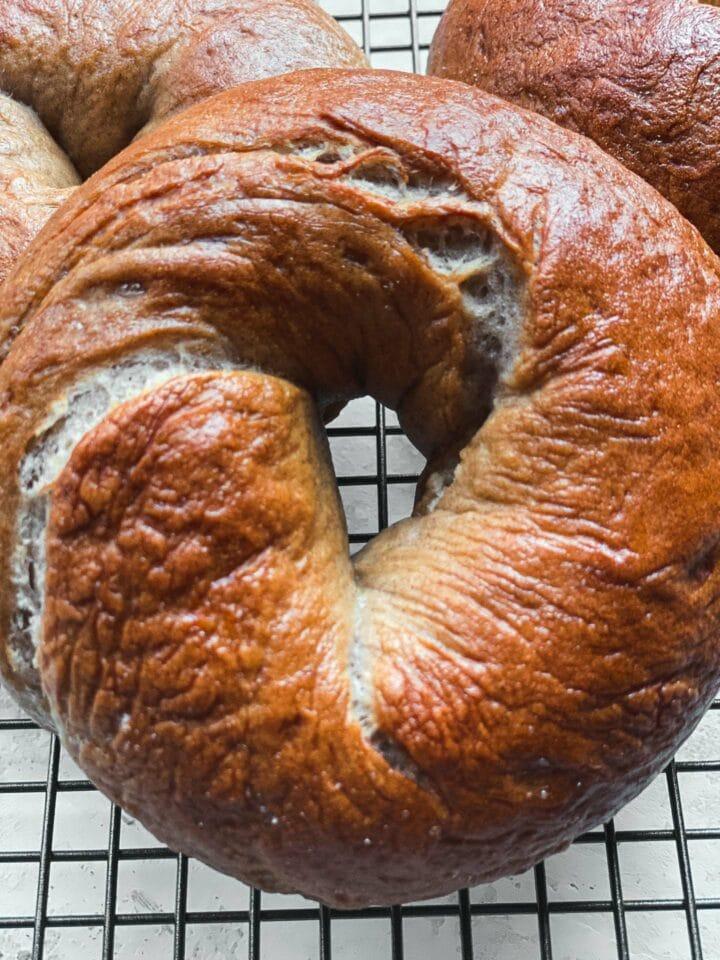Cinnamon bagel