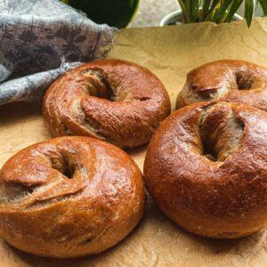 Cinnamon bagels recipe vegan