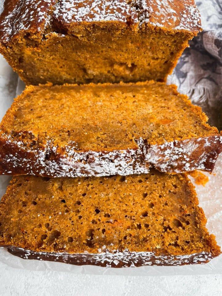 Loaf of vegan bread