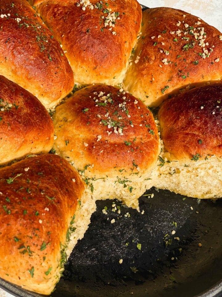 Olive oil skillet bread