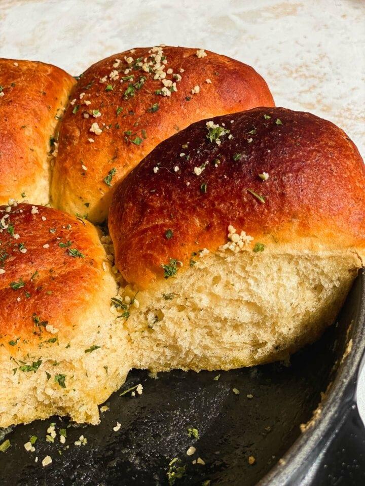 Olive oil skillet bread recipe