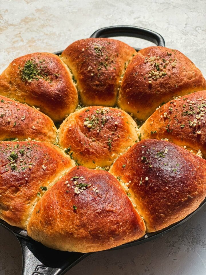 Vegan olive oil bread