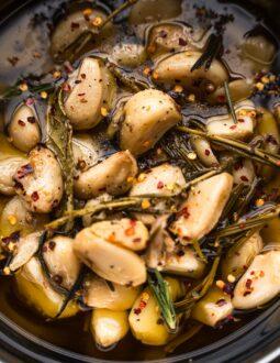 Garlic confit recipe