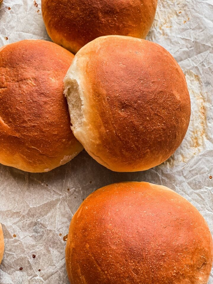 Vegan bread rolls