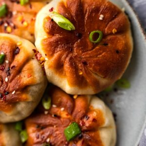 Vegetable buns with tofu