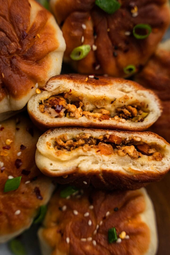 Vegetable buns with tofu recipe